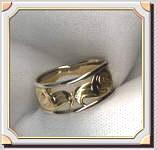 Eagle Pierced Ring