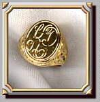 Scroll Signet Ring