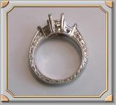 Victorian Platinum Ring